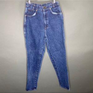 Chic Denim Vintage High Rise Jeans 80s